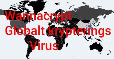 Wannacrypt krypteringsvirus