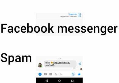 Facebook messenger spam