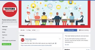Testers assoication svindel Facebook