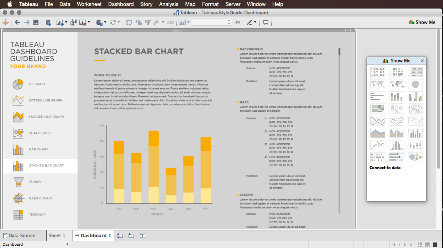 Data Visualization Style Guide The Best Dataviz Format