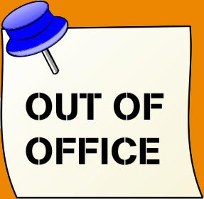 creating an out of office auto reply email in few steps data rh datanumen com Funny Out of Office out of office message clipart