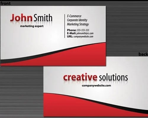 creating business cards in outlook for quick sharing