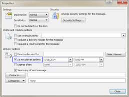 Learn How Scheduling Emails in Outlook can come handy
