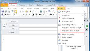 Using Read Receipts in Outlook 2013 – A Brief Guide