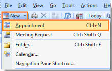 Choose to mark appointments as complete when you are done with them