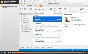 Outlook 2016 is designed to work flawlessly on Tablets