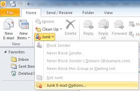 Spam is not going away anytime soon - block Spam in the Outlook email client