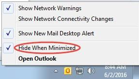 """""""Hide When Minimized"""" Option"""