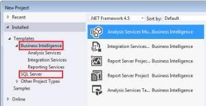 SQL Server BI