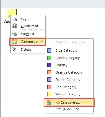 """Choose """"All Categories"""" Option"""