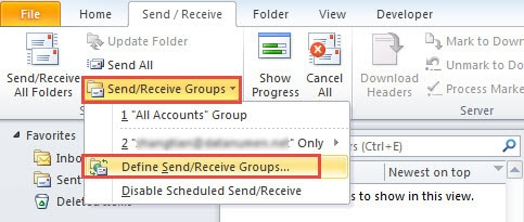 How to Update RSS Feeds in Outlook Manually Instead of
