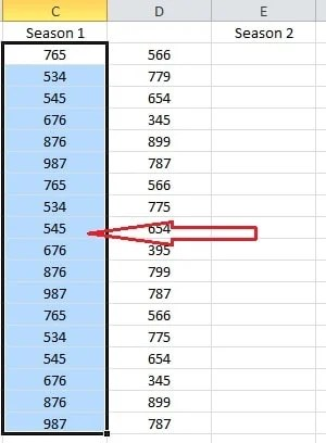 2 Ways to Move or Swap Columns or Rows in Excel - Data