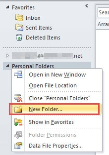 Create a Certain Number of New Folders to Trim Mailbox