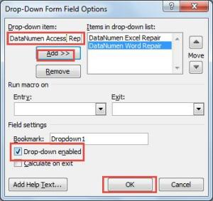 How To Easily Create A Drop Down List In Your Word Document Data