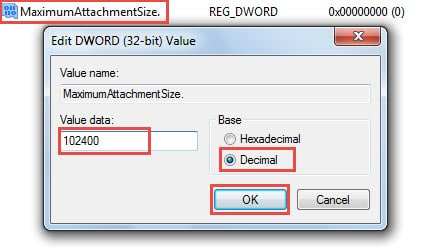 How to Change the Attachment Size Limit for Outlook Emails - Data ...