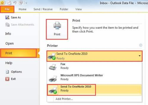 How to Save an Outlook Email as a PDF File - Data Recovery Blog