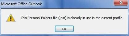 Personal Folders file