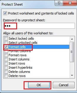 How to Protect Your Excel Worksheets with Passwords - Data ...
