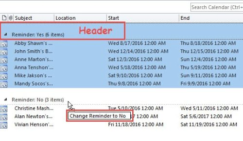how to set a calendar reminder in outlook