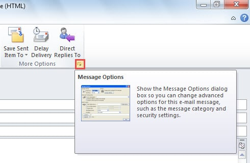 Encrypt Outlook Email >> How To Encrypt Your Email Contents Attachments In Outlook