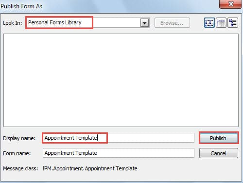 2 Ways To Create Appointment And Meeting Templates In Outlook Data