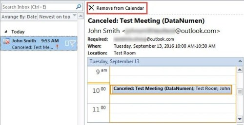 How to Remove Canceled Meetings from Outlook Calendar