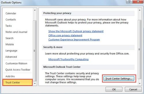 how to send encrypted email in outlook 2016