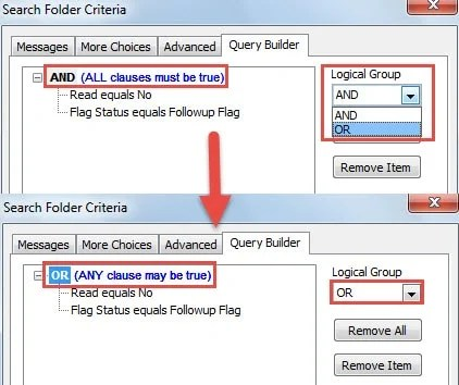 """Change """"AND"""" to """"OR"""" Criteria"""