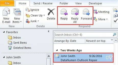 2 Methods to Add Comments to an Email in Outlook - Data