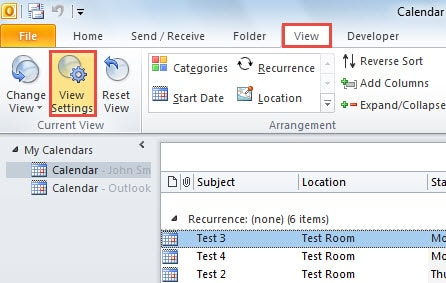 2 Methods To Print Outlook Items In A Specific Category