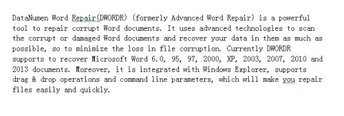 how to get rid of the hyperlink in word