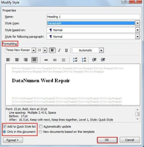 how to set word document to read only