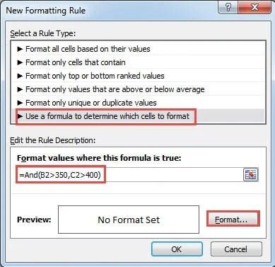 Input Formula