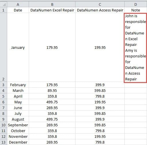 3 Quick Methods to Paste Multiple Lines into One Cell in Your Excel  Worksheet - Data Recovery Blog