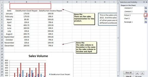 how to use the selection pane to manage shapes in your excel