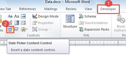 How to insert tick box in microsoft word 2020