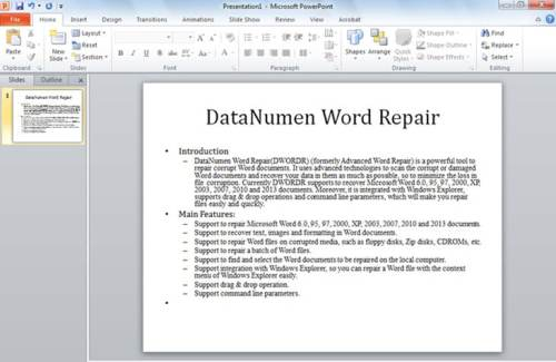 2 Methods to Convert Your Word Document to a PowerPoint Presentation ...