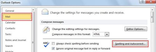 How to Add or Remove Words in Outlook Custom Dictionary