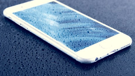 Water Damaged Smartphone