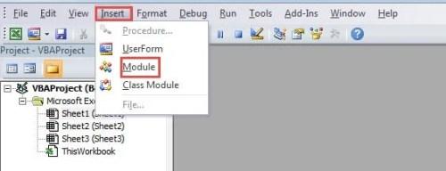 Insert Module