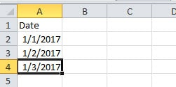 Dates in Excel File