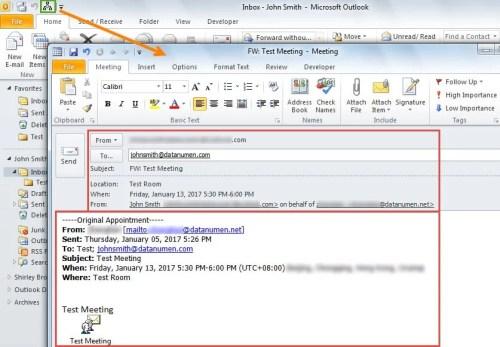 3 methods to forward a meeting invitation without notifying the forward meeting invitation with outlook vba stopboris Images