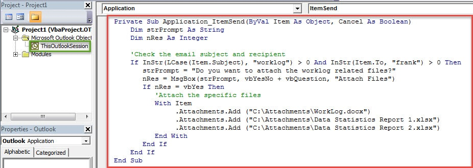How to Auto Attach Specific Files When Sending Specific Emails in