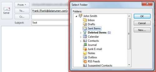 How to Auto Save Specific Sent Emails to a Specific Folder