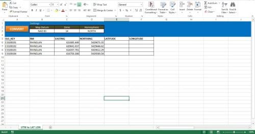 How to Convert UTM Coordinates into Latitude and Longitude values