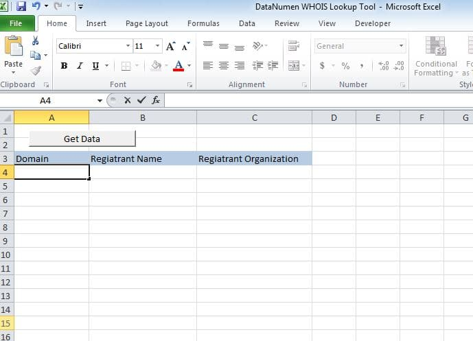 How to Create a WHOIS Lookup Tool via Excel VBA - Data Recovery Blog