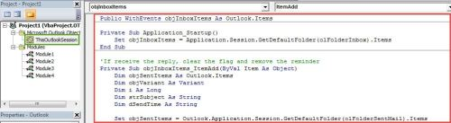 VBA Codes - Get a Notification If Not Receiving the Reply of a Specific Email within Expected Time