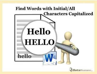 2 Quick Ways to Find All Words with Initial or All Letters