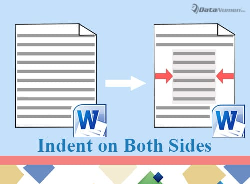 Indent Paragraphs on Both Left and Right in Your Word Document