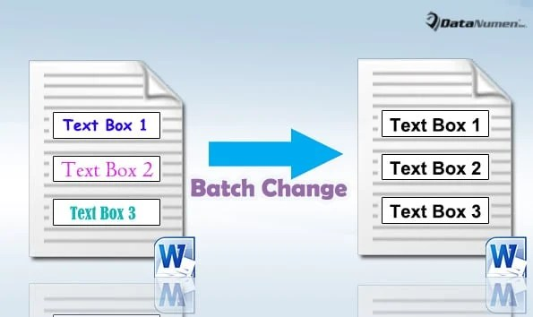 Batch Change Text Format in All Text Boxes